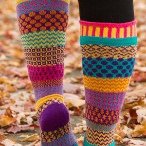 Womans mismatched Soul Mate socks